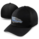 Blue Line Flag Hat - Patriot Wear