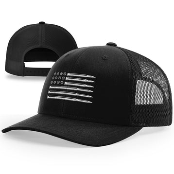 Bullet Flag Hat - Patriot Wear