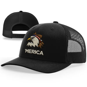 Merica Eagle Hat - Patriot Wear