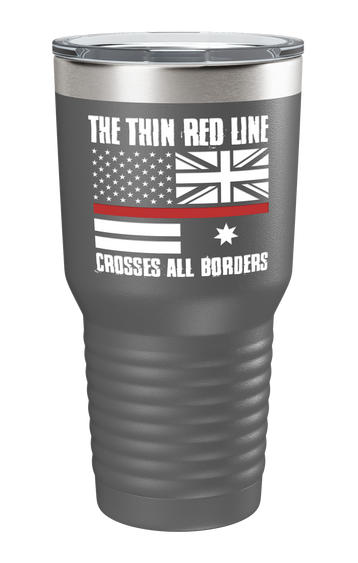 The Thin Red Line Color Printed Tumbler - Patriot Wear
