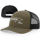 Bourbon Molecule Hat - Patriot Wear