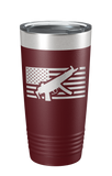 MP5 Flag Laser Etched Tumbler - Patriot Wear
