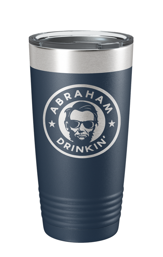 Abraham Drinking Laser Etched Tumbler - Patriot Wear