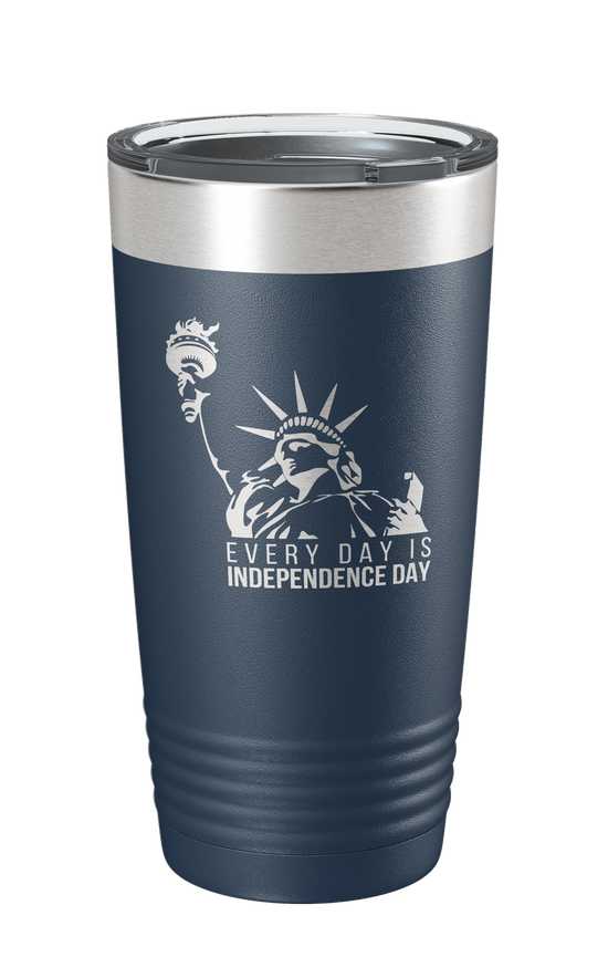 Everyday is Independence Day Laser Etched Tumbler - Patriot Wear