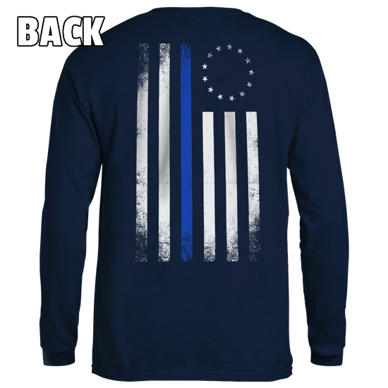 Old Betsy Ross Blue Line Flag - Patriot Wear
