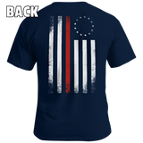 Old Betsy Ross Red Line Flag - Patriot Wear