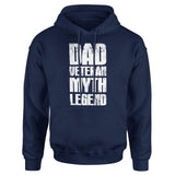 Dad Veteran Myth Legend - Patriot Wear
