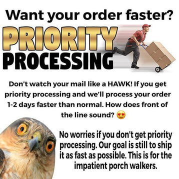 Priority Processing - Patriot Wear