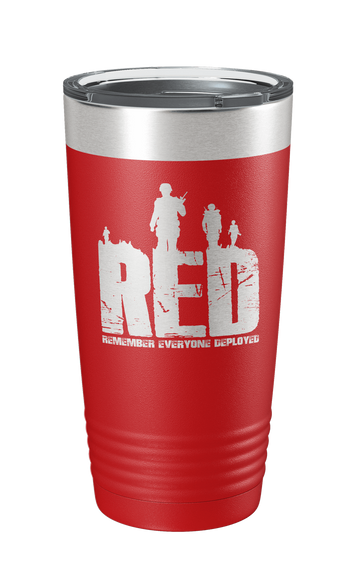 Remember Everyone Deployed v2 Laser Etched Tumbler - Patriot Wear