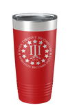 Rebellion Becomes Duty Laser Etched Tumbler - Patriot Wear