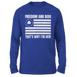 Freedom And Beer - Patriot Wear