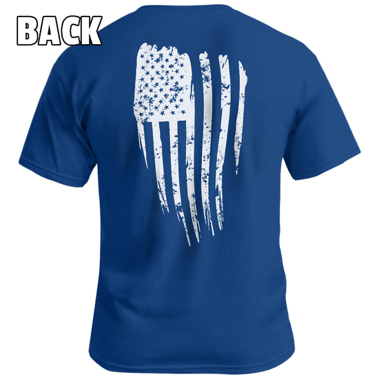 Distressed Flag v2 - Patriot Wear