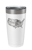 I'm not drunk, I'm American Laser Etched Tumbler - Patriot Wear
