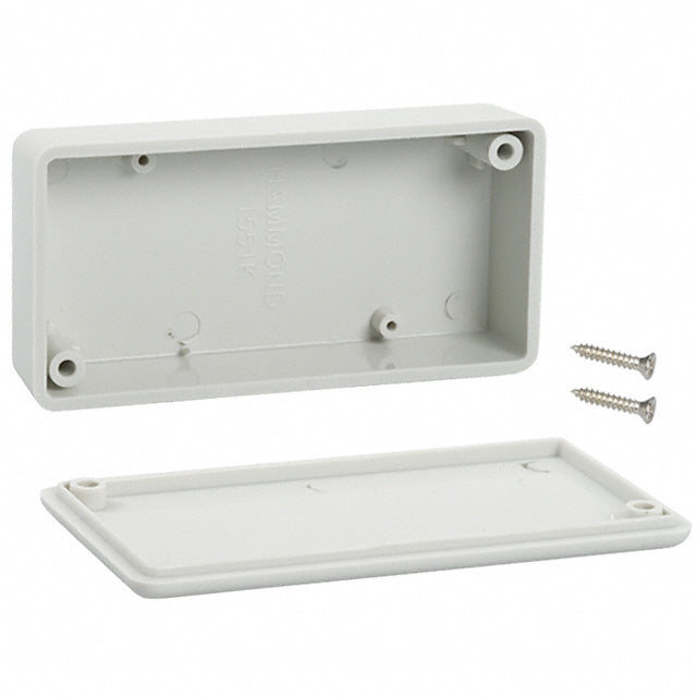 80 x 40 x 20mm miniature IP54 ABS grey enclosure