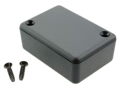 50 x 35 x 20mm miniature IP54 ABS black enclosure