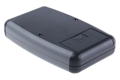 117 x 79 x 24mm ABS IP54 grey hand held with battery door