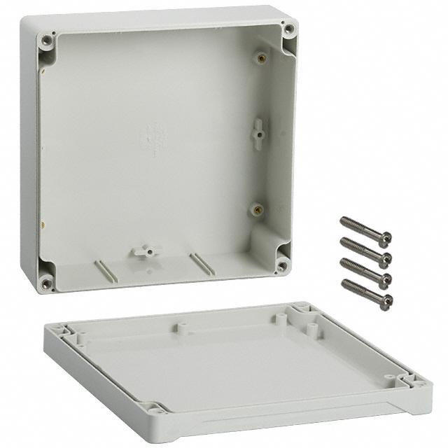 160 x 90 x 60mm IP66 ABS IP66 grey enclosure