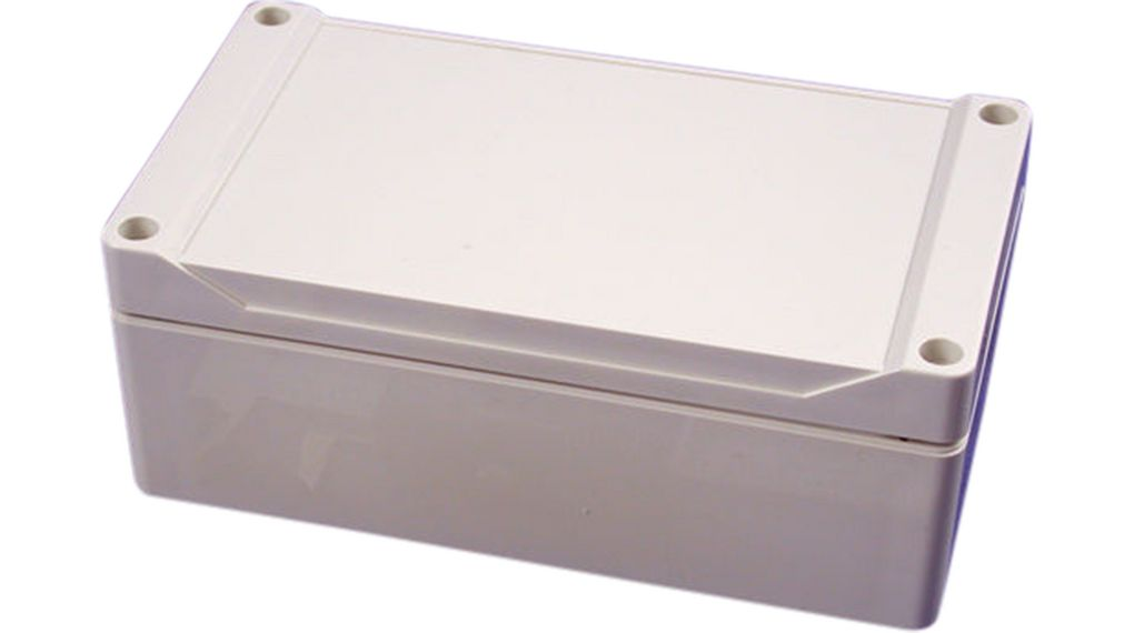 160 x 90 x 60mm ABS IP66 watertight grey styled lid enclosure