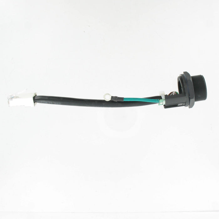 IP67 RJ45 Panel Mated w/proof 100mm lead FTP screw type + earth