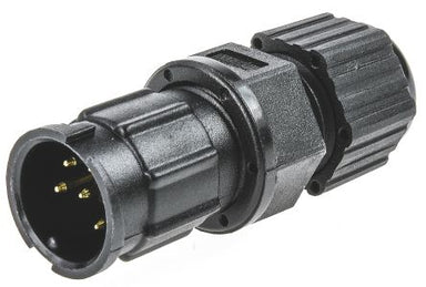 IP67 6 Way Circ Male Cable Conn Lock 5A