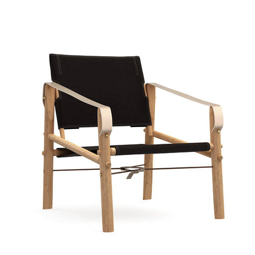 We Do Wood - Nomad Chair Black - Lounge/Lænestol