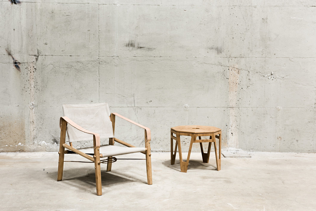 We Do Wood - Nomad Chair Natural - Lounge/Lænestol