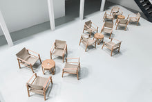 Indlæs billede til gallerivisning We Do Wood - Nomad Chair Natural - Lounge/Lænestol
