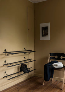 We Do Wood - Shoe Rack, Dark - Skoreol