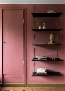 We Do Wood - Loop Shelf Dark - Hylde