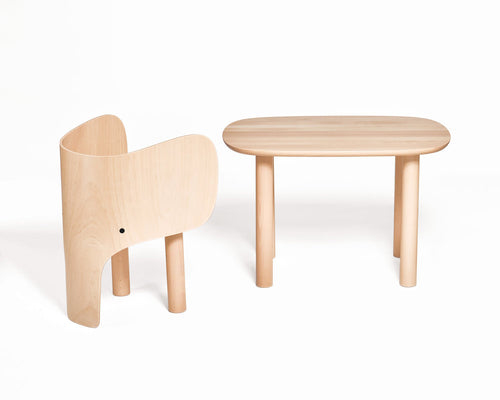 EO - Elephant Chair & Table - Bord & stol