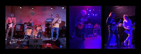 Mike Watt, Buzz Osborne (Melvins) and Steven McDonald (Red Kross)