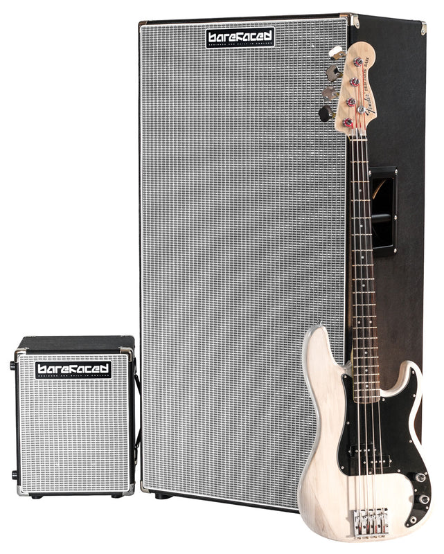Barefaced One 10 and Eight 10 with Bass for scale