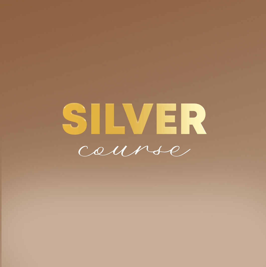Silver Course: Customization Only (NON-REFUNDABLE DEPOSIT)