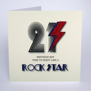 21 Time To Party Like a Rock Star