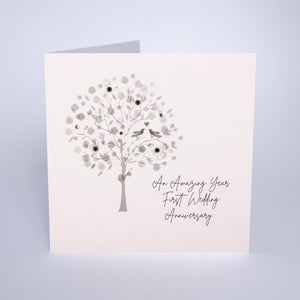 First Wedding Anniversary (Tree)