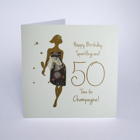 Happy Birthday, Sparkling and 50 Time for Champagne