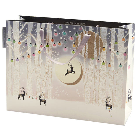 Shopper Bag (Landscape) - Reindeers / Forest