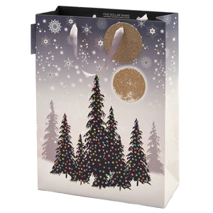 Shopper Bag (Portrait) - Christmas Trees