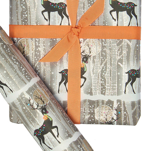 Roll Wrap - Reindeers
