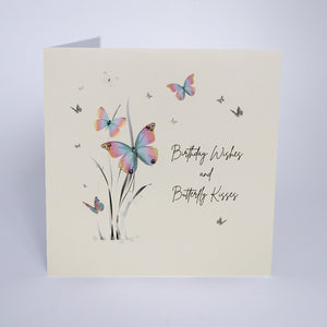 Birthday Wishes And Butterfly Kisses