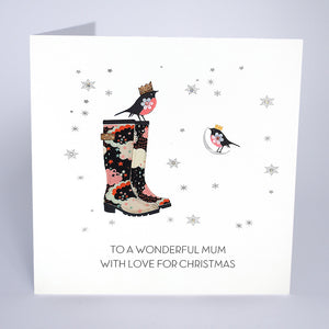 To a Wonderful Mum With Love for Christmas