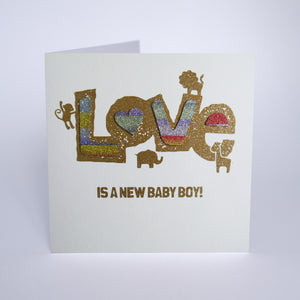 Love is a New Baby Boy