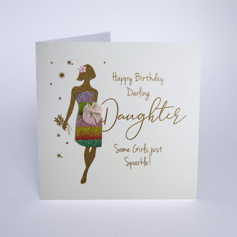 Happy Birthday Darling Daughter, Some Girls Just Sparkle