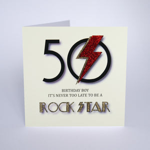 50 It's Never Too Late To Be A Rock Star