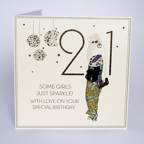 21 - Some Girls Just Sparkle