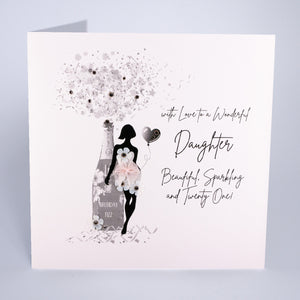 To a Wonderful Daughter / Granddaughter (Ages)