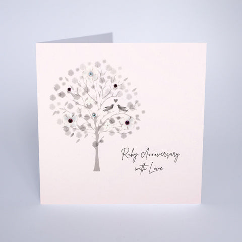 Ruby Anniversary (Tree)