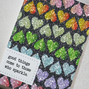 Good Things Come to Those Who Sparkle