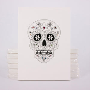 Mexican Calavera : Always live in the moment