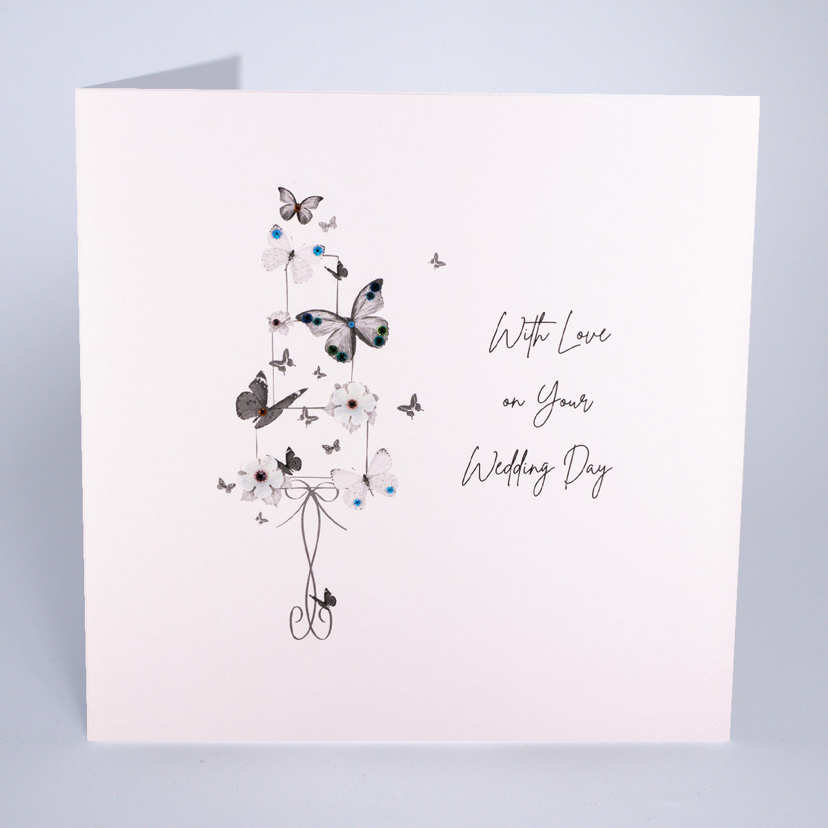 With Love on Your Wedding Day (Large Card)